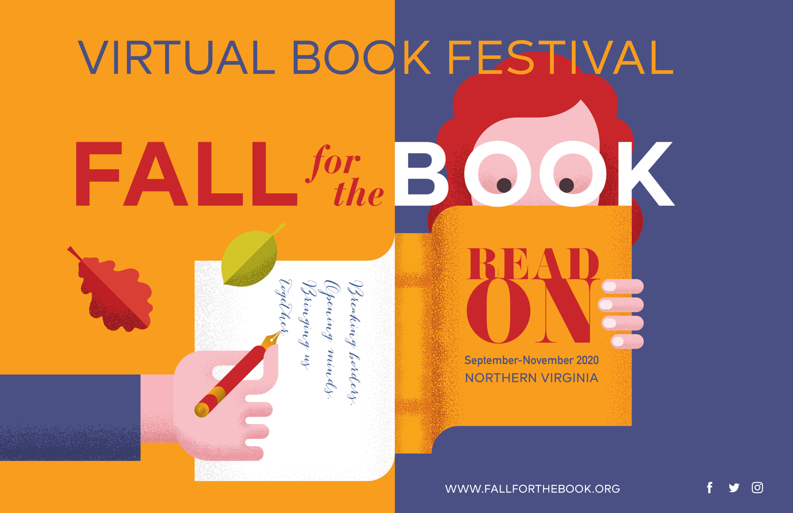 Fall for the Book Graphic