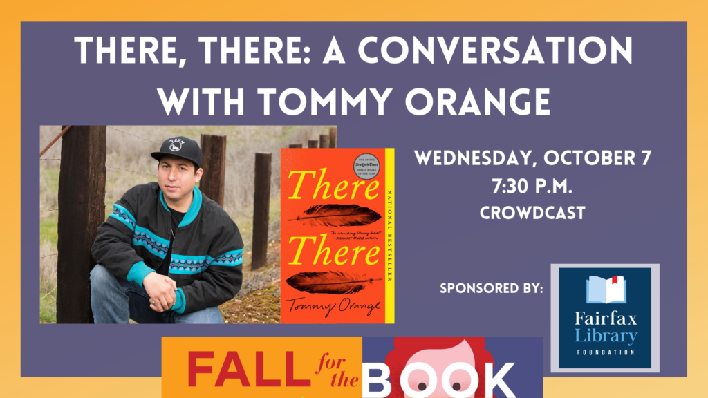 Graphic of Tommy Orange Event