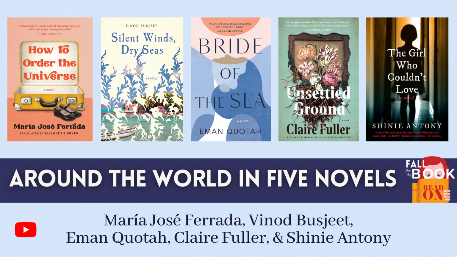Around the world in five novels