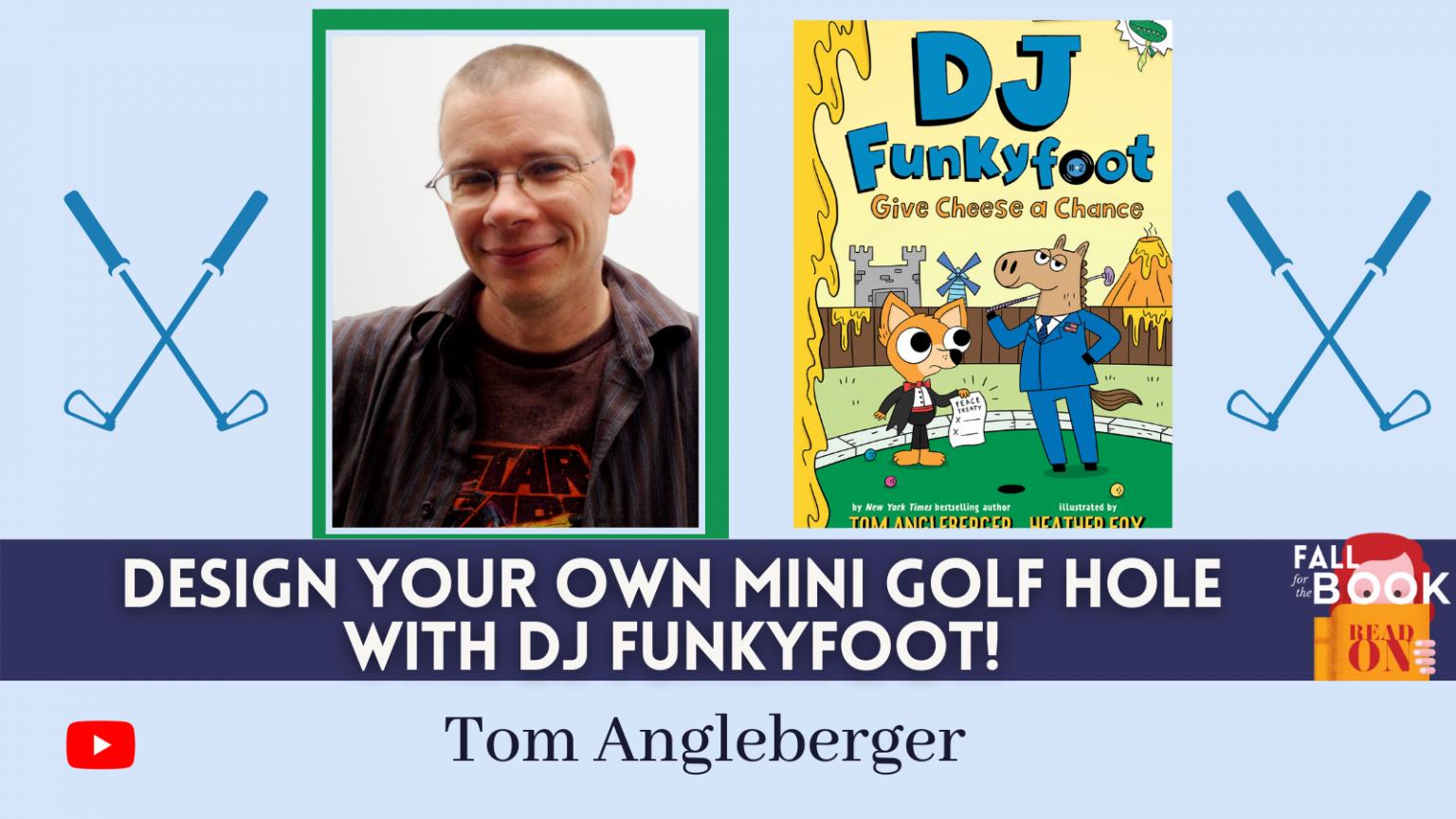 Tom Angleberger Event
