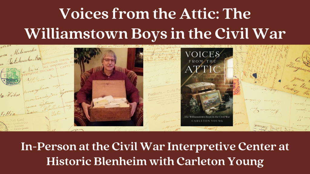 Voices from the Attic: The Williamstown Boys in the Civil War graphic