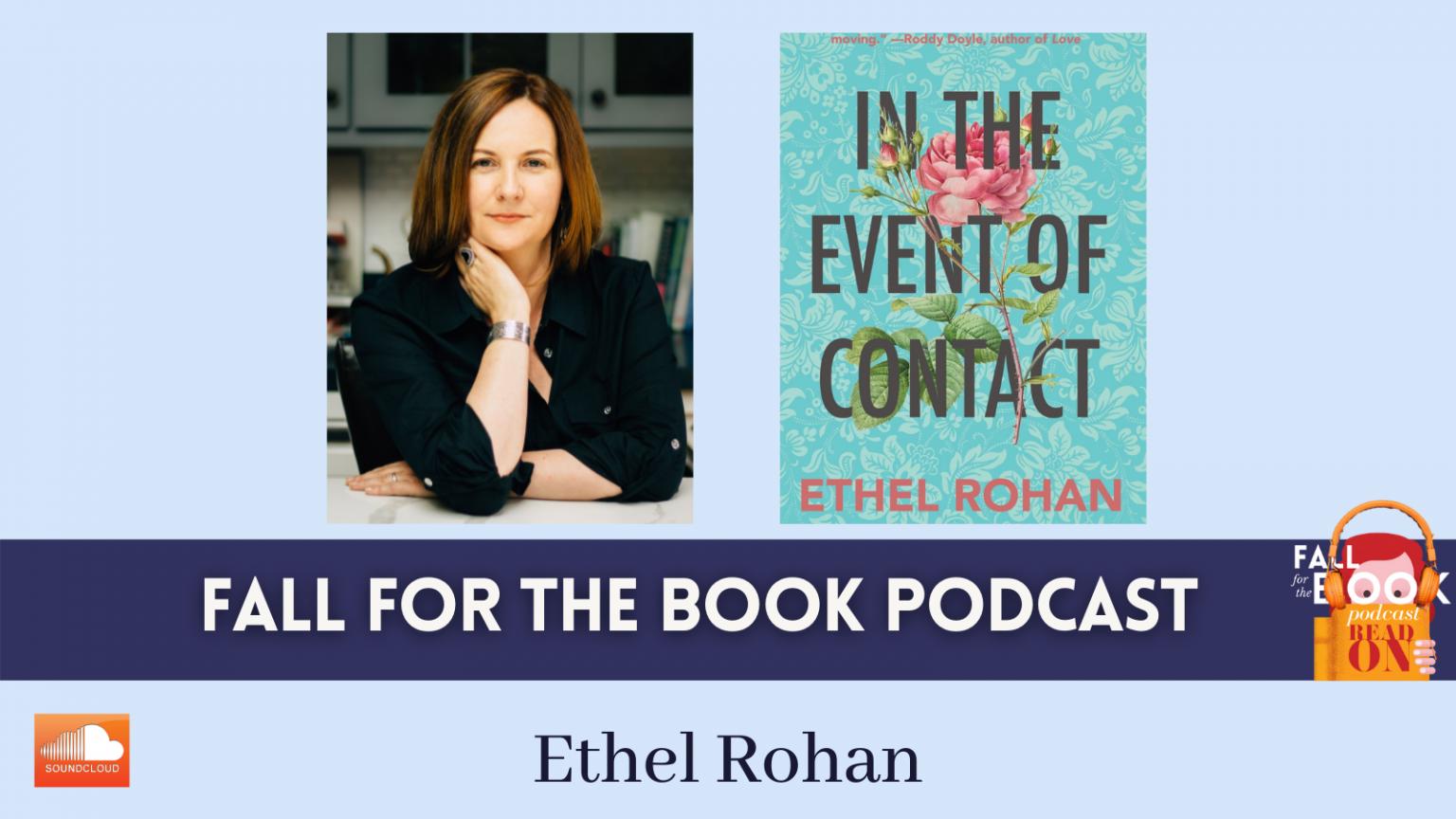 Ethel Rohan Podcast Graphic