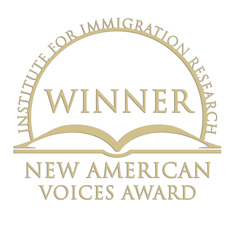 Winning seal New American Voices